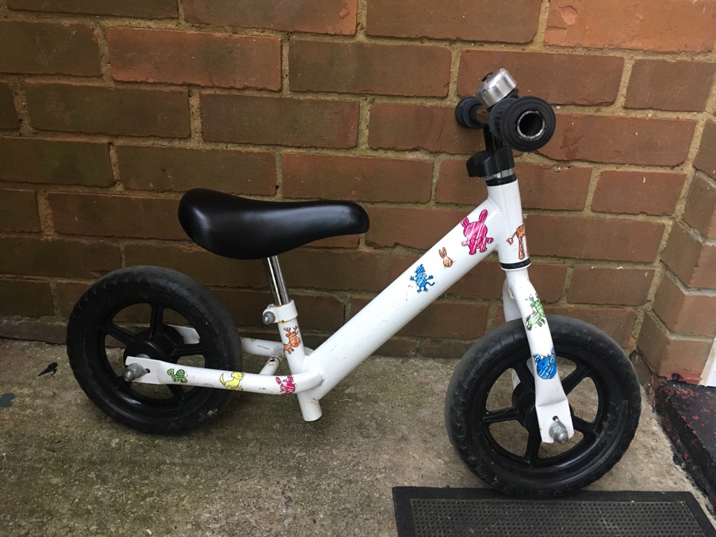 "10"" Unisex Balance Bike"