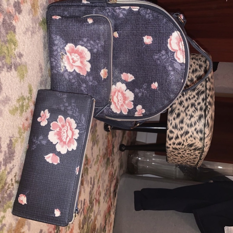 Cath kidson mini bag & matching purse!