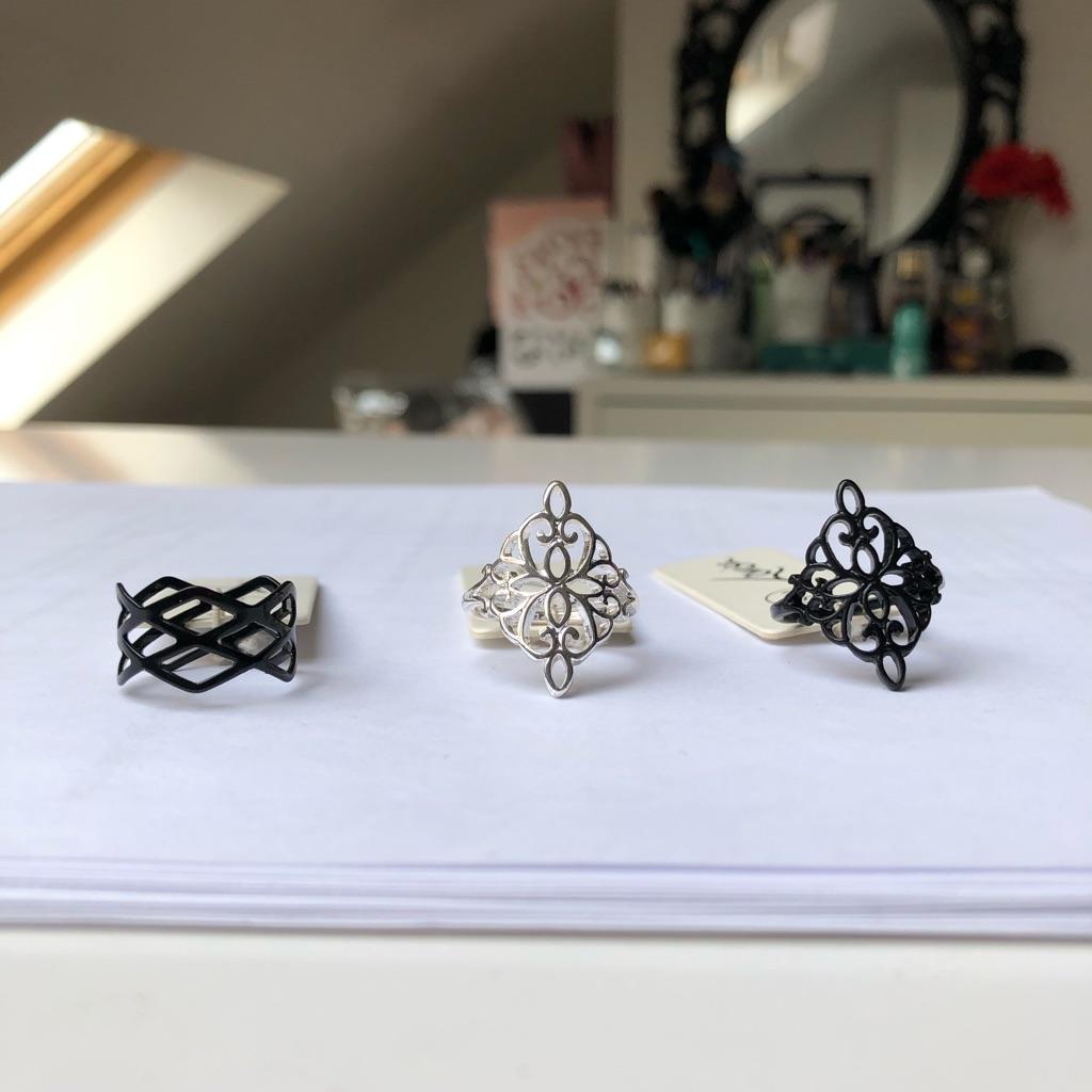 Rings (£4 each)