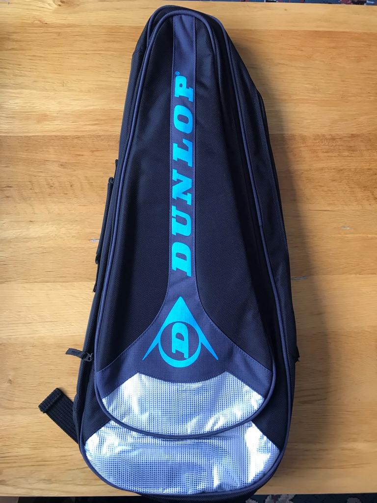 DUNLOP RACKET BAG BLUE TENNIS BAG