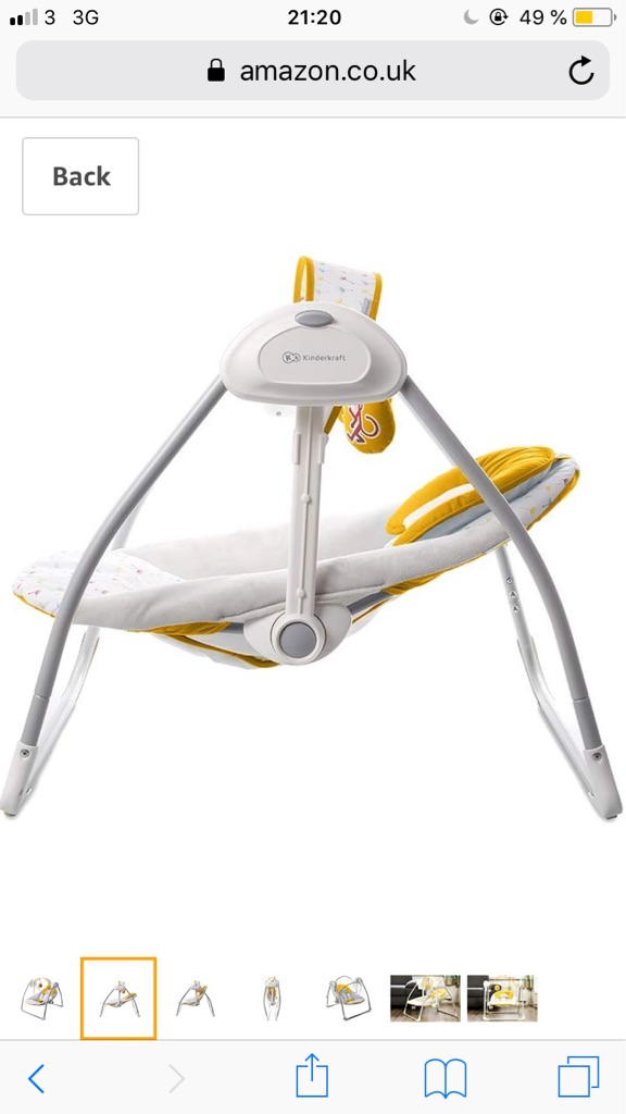 Baby rocker&swing bu Kinderkraft