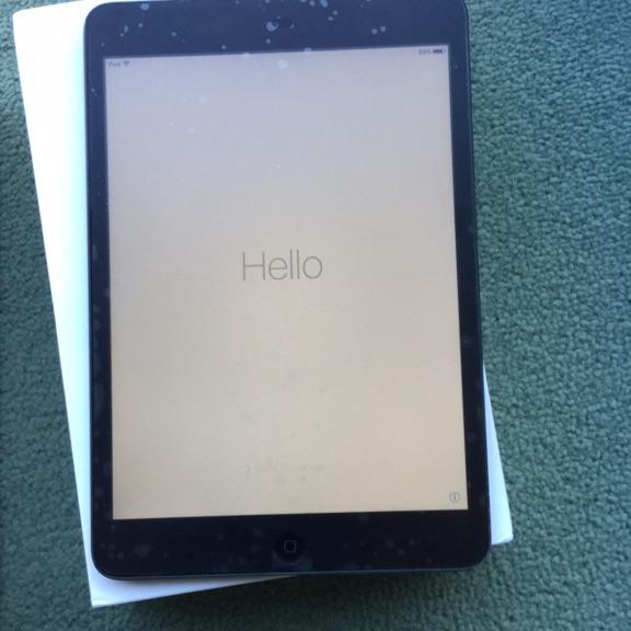 Apple iPad mini 1 16gb black wi fi boxed