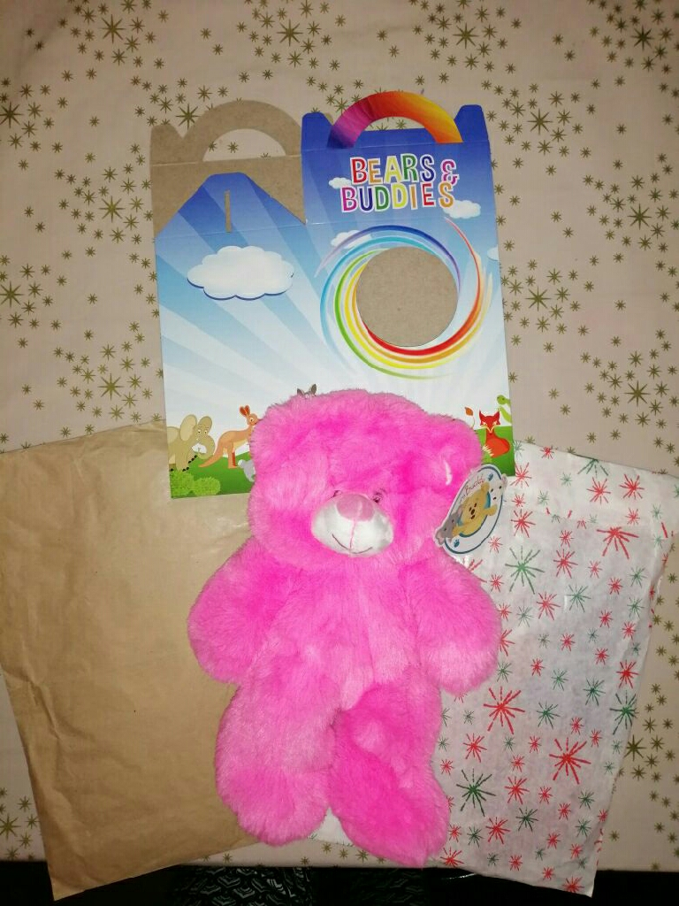 Build your own bear and 2 outfits bnwt