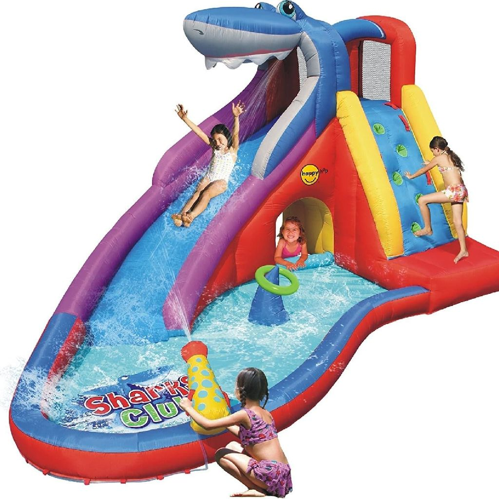 Bouncy castle and water slide 15ft