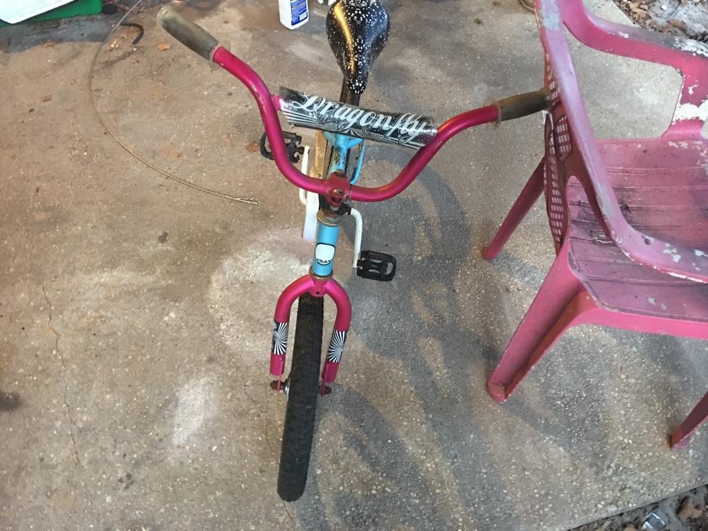 Used lil girl bike