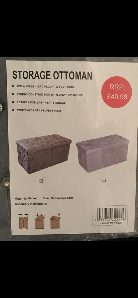 Ottoman storage box