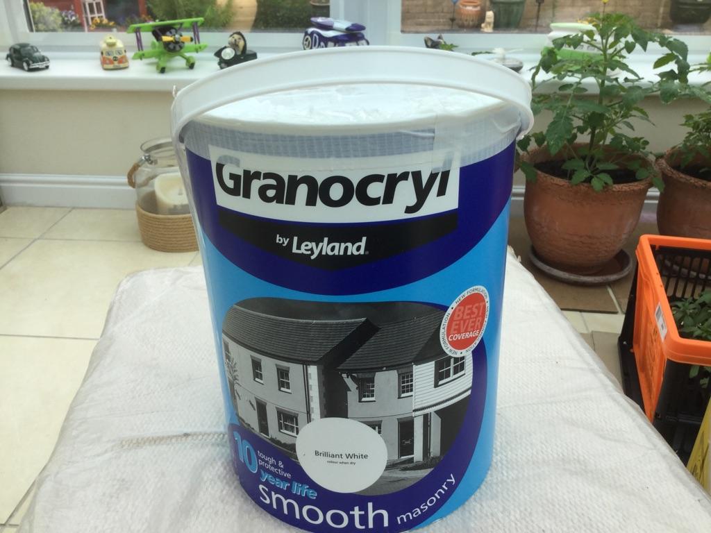 Paint masonary LEYLAND granocryl