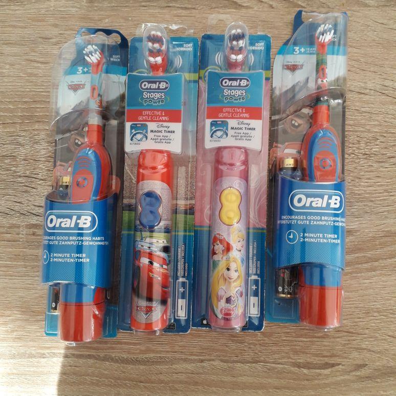Oral b toothbrushes