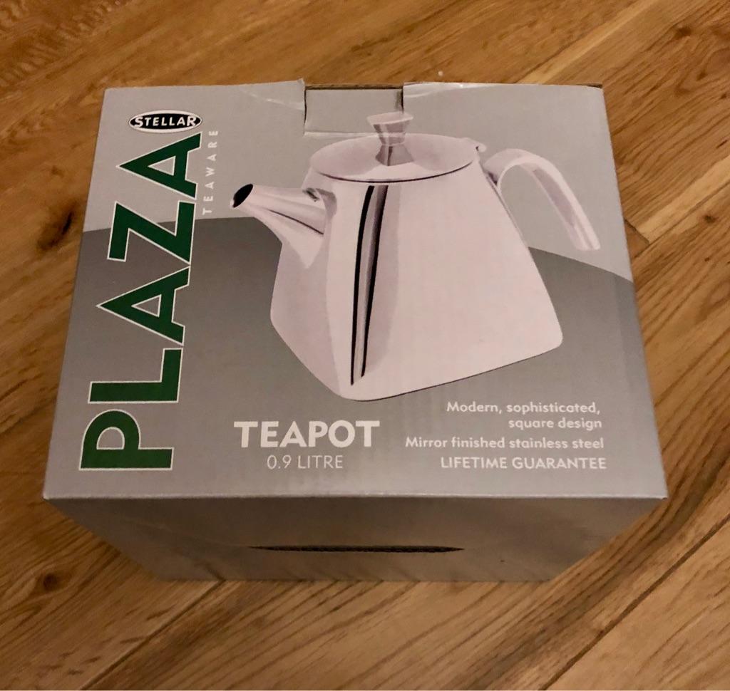 Stellar Plaza  Stainless Steel Teapot