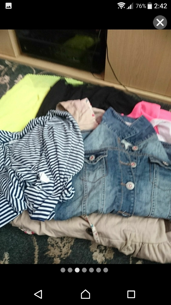 Girls clothes 11-12 years