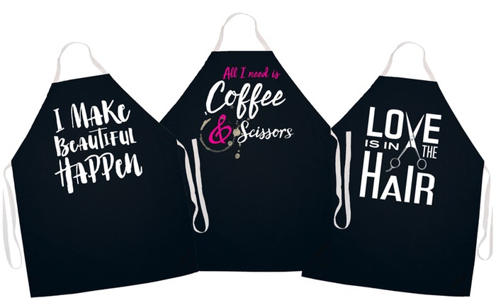 I customise aprons