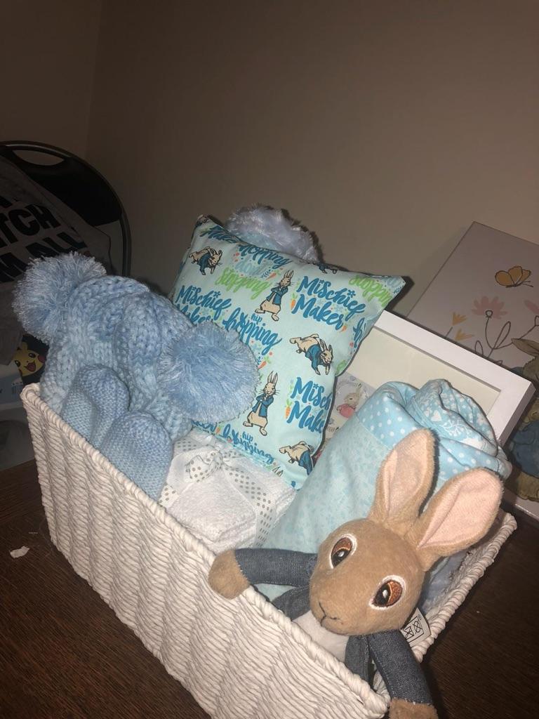Baby peter rabbit hamper