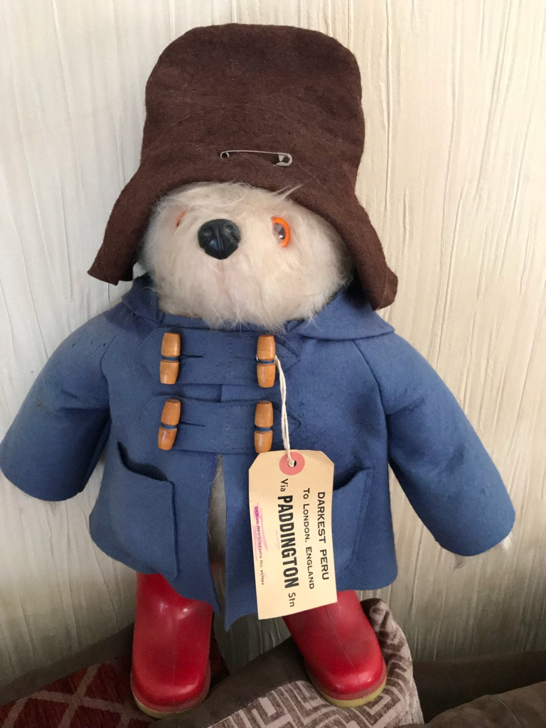 Collectable rare Paddington bear