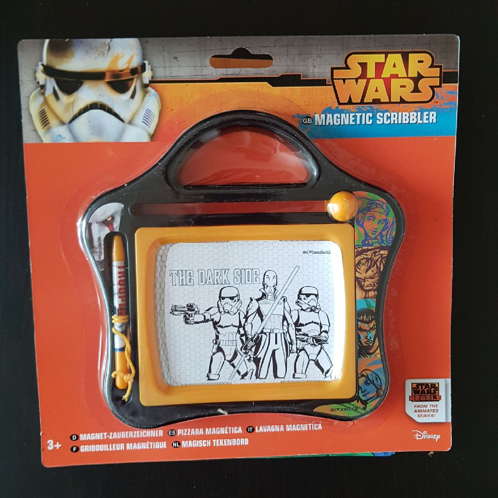 Brand new star wars magnetic scribbler