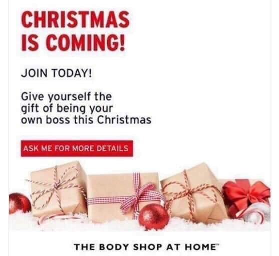 Consultant the body shop at home