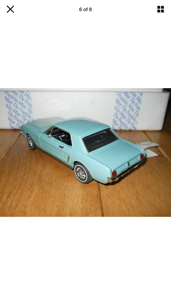 Franklin mint 19 64 1/2 Ford mustang