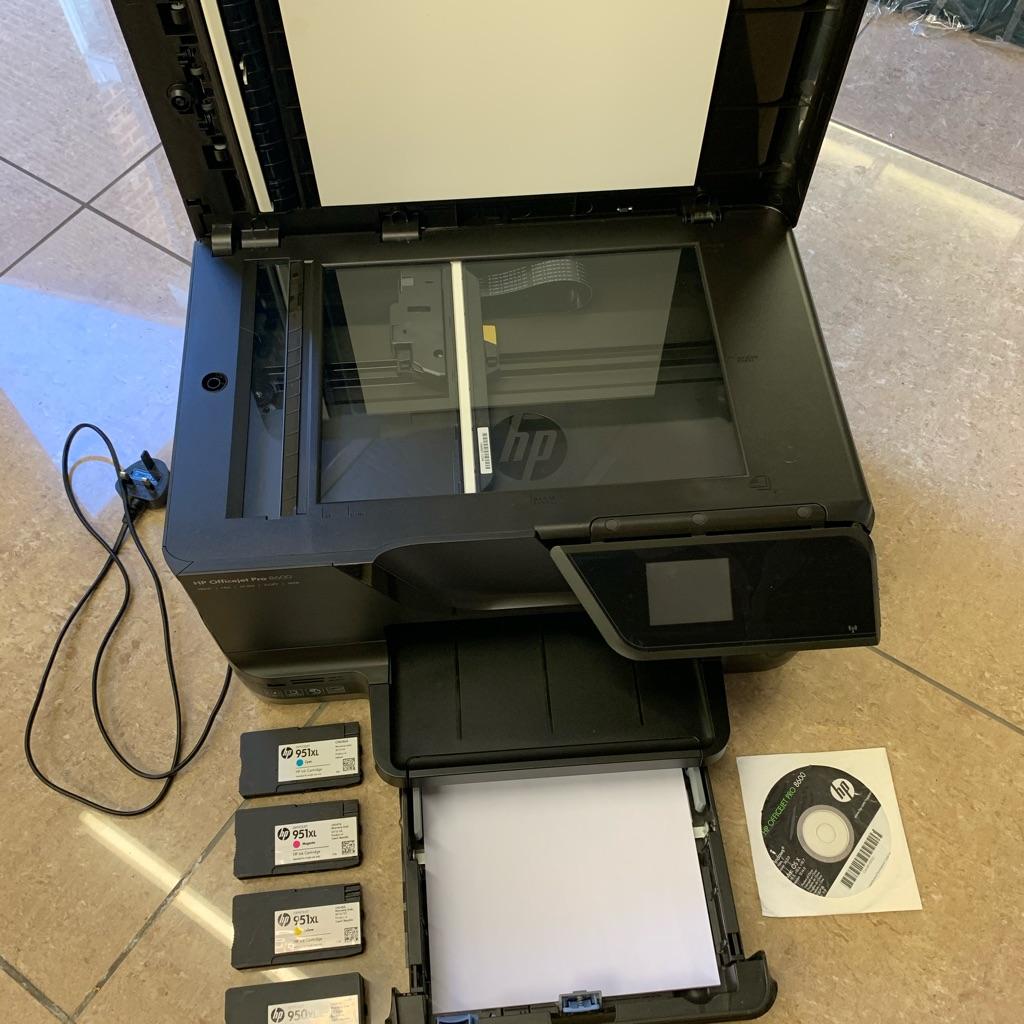 HP colour printer.