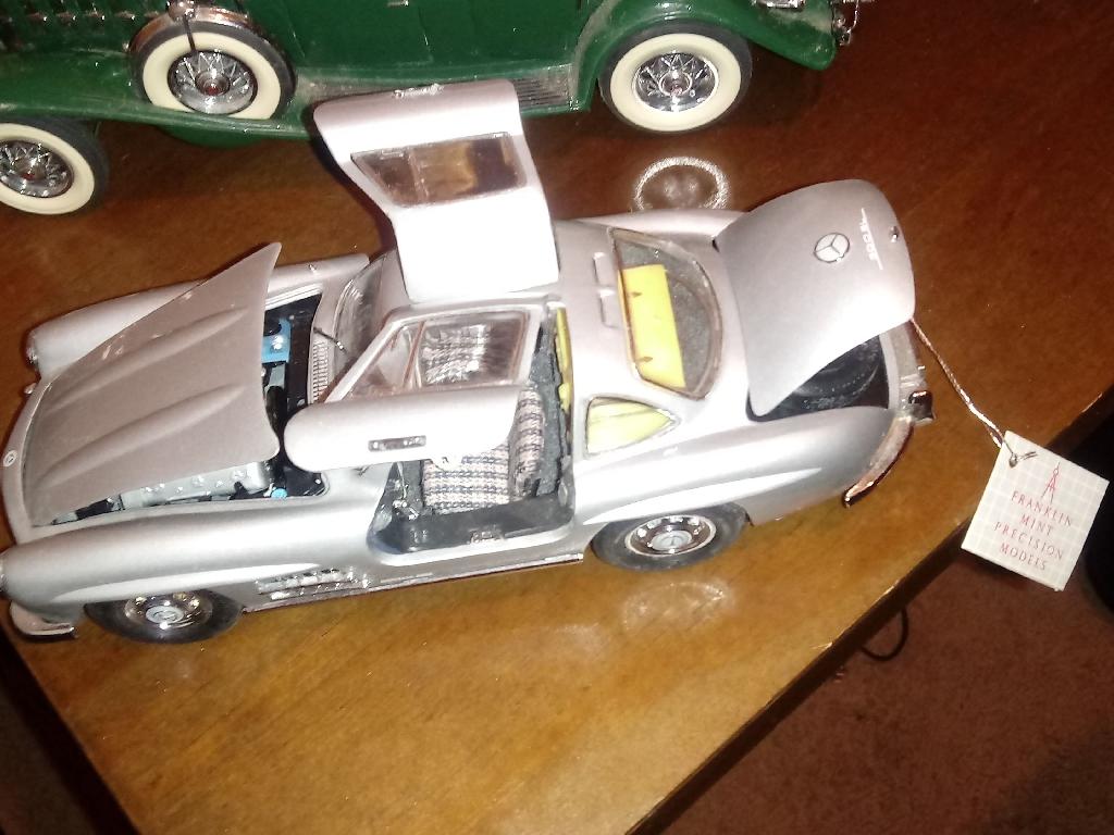 3 PRECISION FRANKLIN MINT MODEL CARS