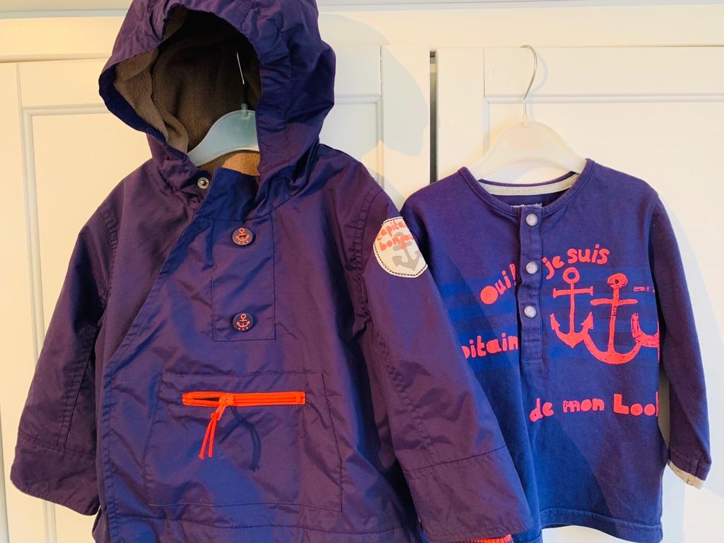 Vertbaudet Designer Boy's Coat and Top