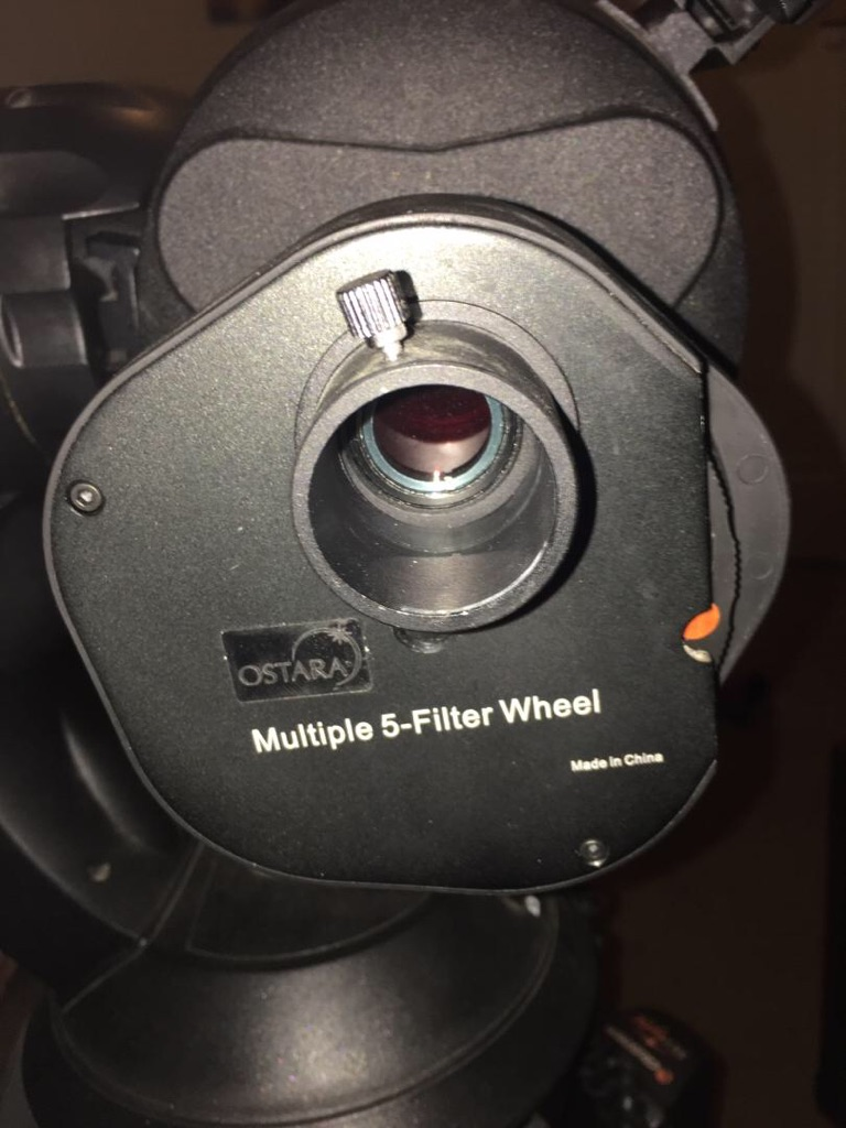 Celestron nexstar 5SE LX telescope with computerised mount and software