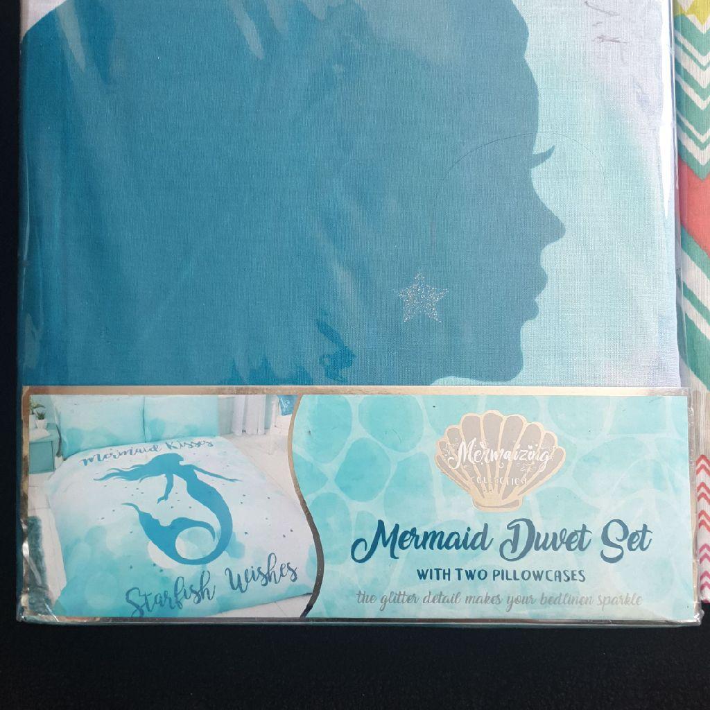Mermaid Double Duvet Set