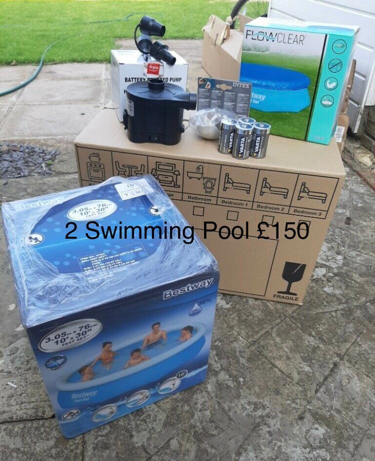 A range of swimming pools for sale