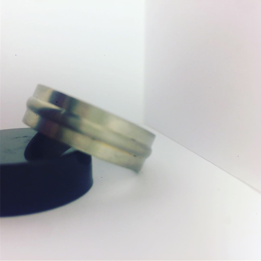💍💎 Men's Titanium Single Band Ring 💎💍