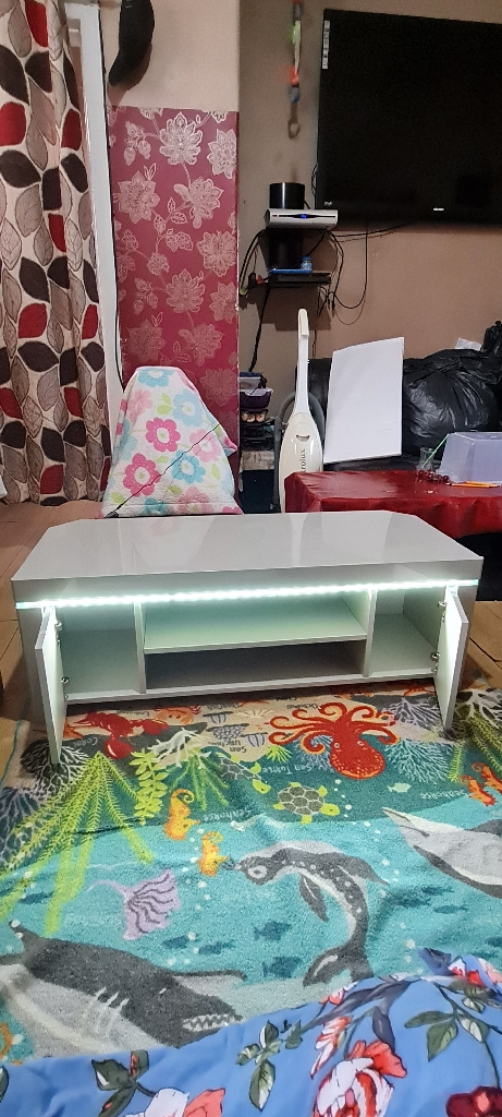 New gray 47 inches wide TV unit £150