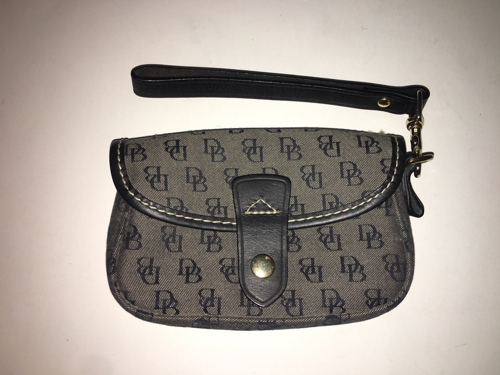 Dooney & Bourke Signature Flap Wristlet