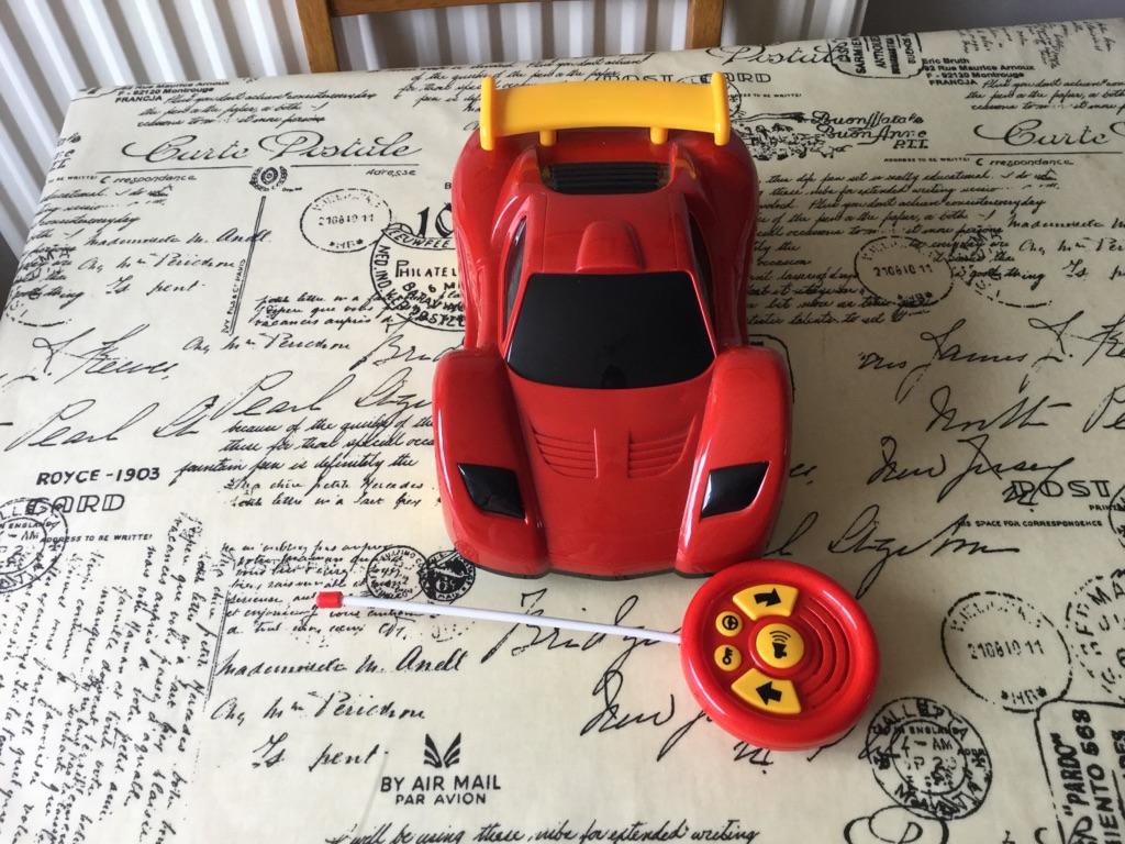 Toys r us child's remote control car 30cm long
