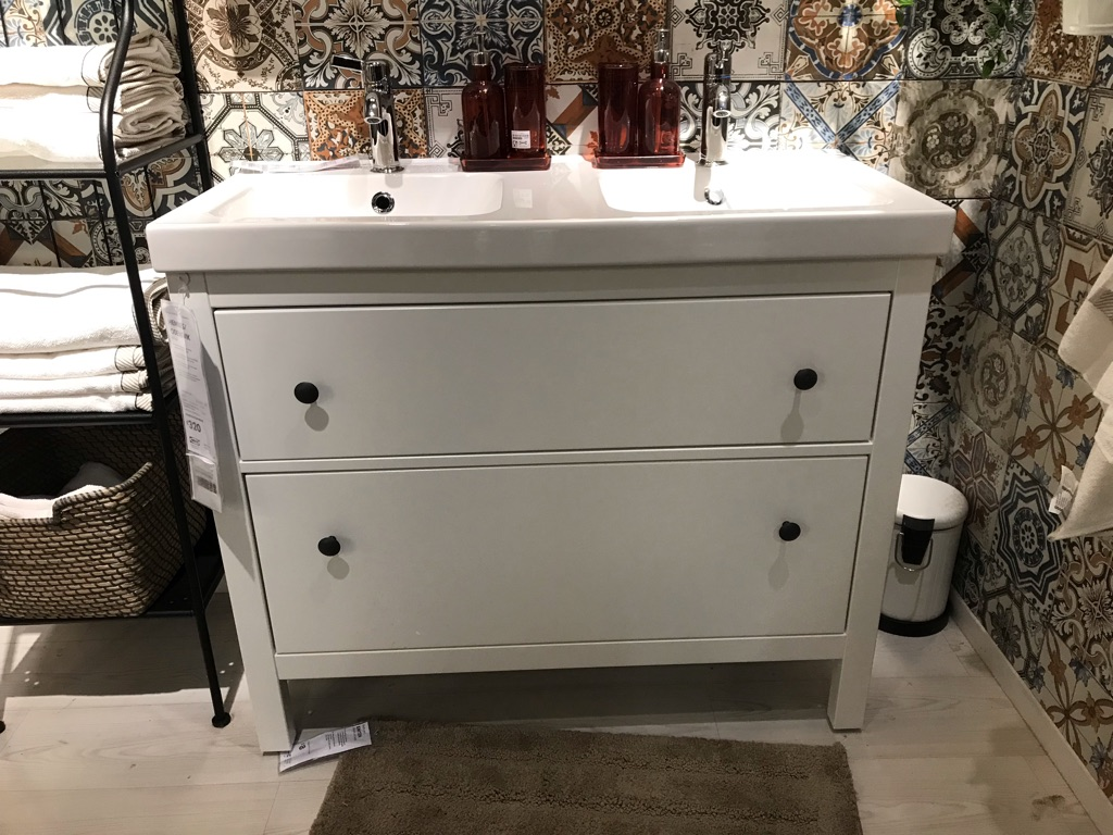 Ikea Hermes Sink Unit, Sink & Shelving Unit