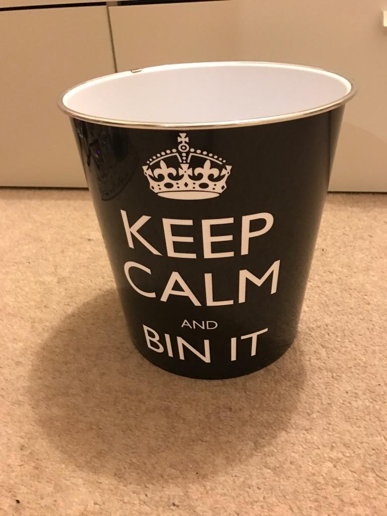 Keep Calm Bin