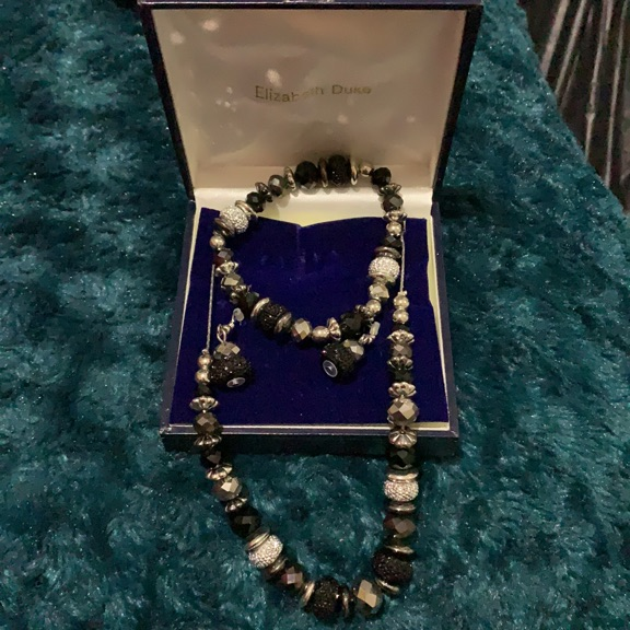 Elizabeth Duke Jewellery Set