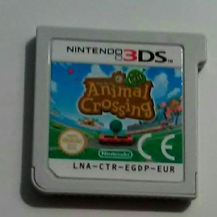 3DS game Animal Crossing New Leaf