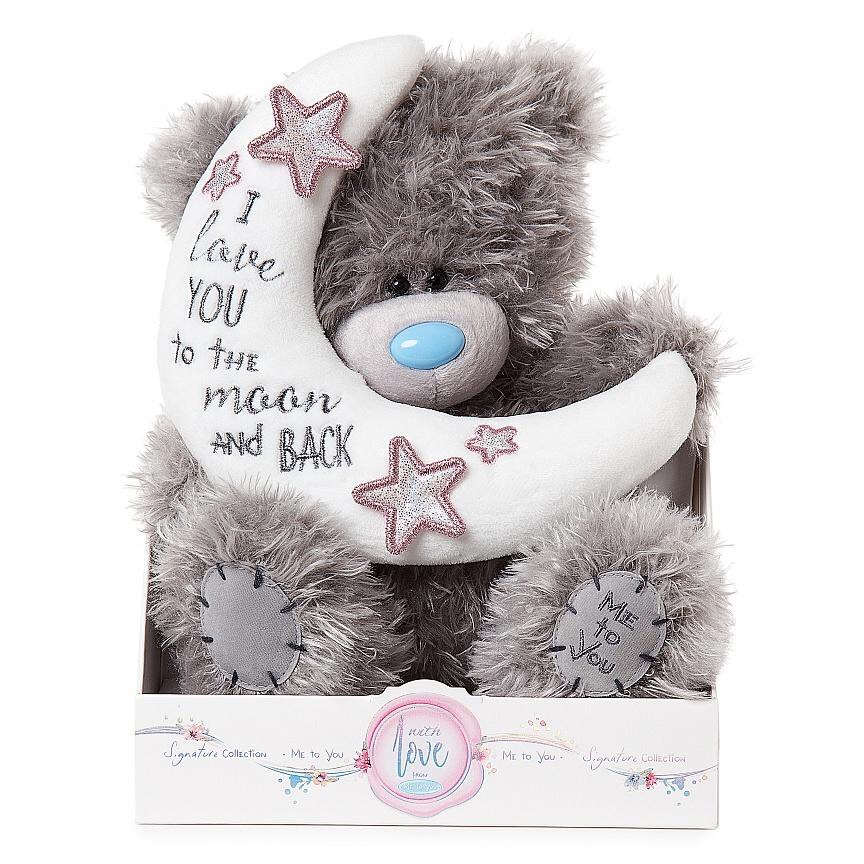 """Me To You"" 9inch Love You To The Moon Plush Bear"