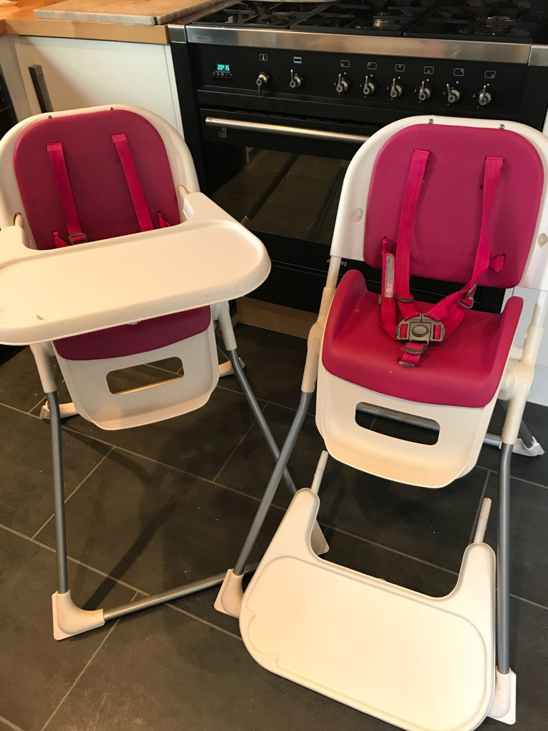 Twins Mamas & Papas High Chairs