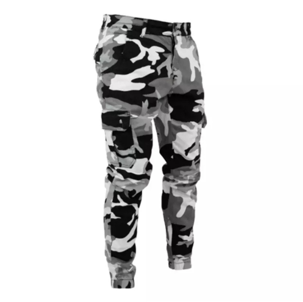 Mens camouflage trousers