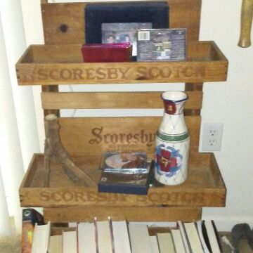 Schoresby Brandy Display