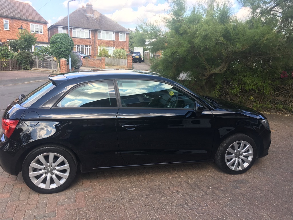 FOR SALE: Black AUDI A1 Sport car
