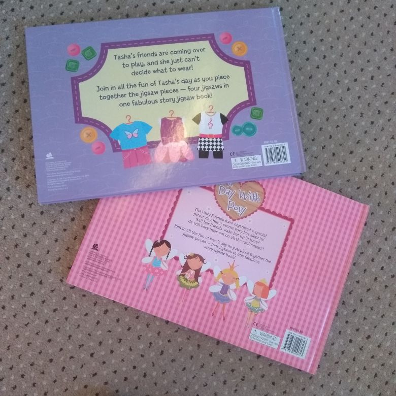 Childrens jigsaw story books