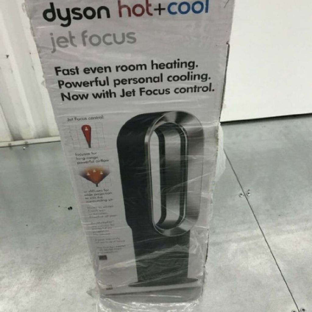 Brand-new dyson hot+cool jet tower fan