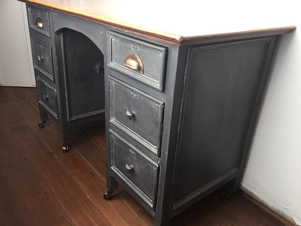 Antique Station Masters Desk