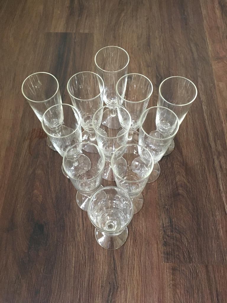 Picnic Champagne wicker basket