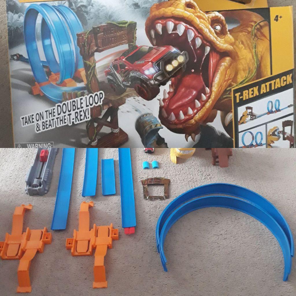 Metal Machines T Rex 🦖 attacks toy