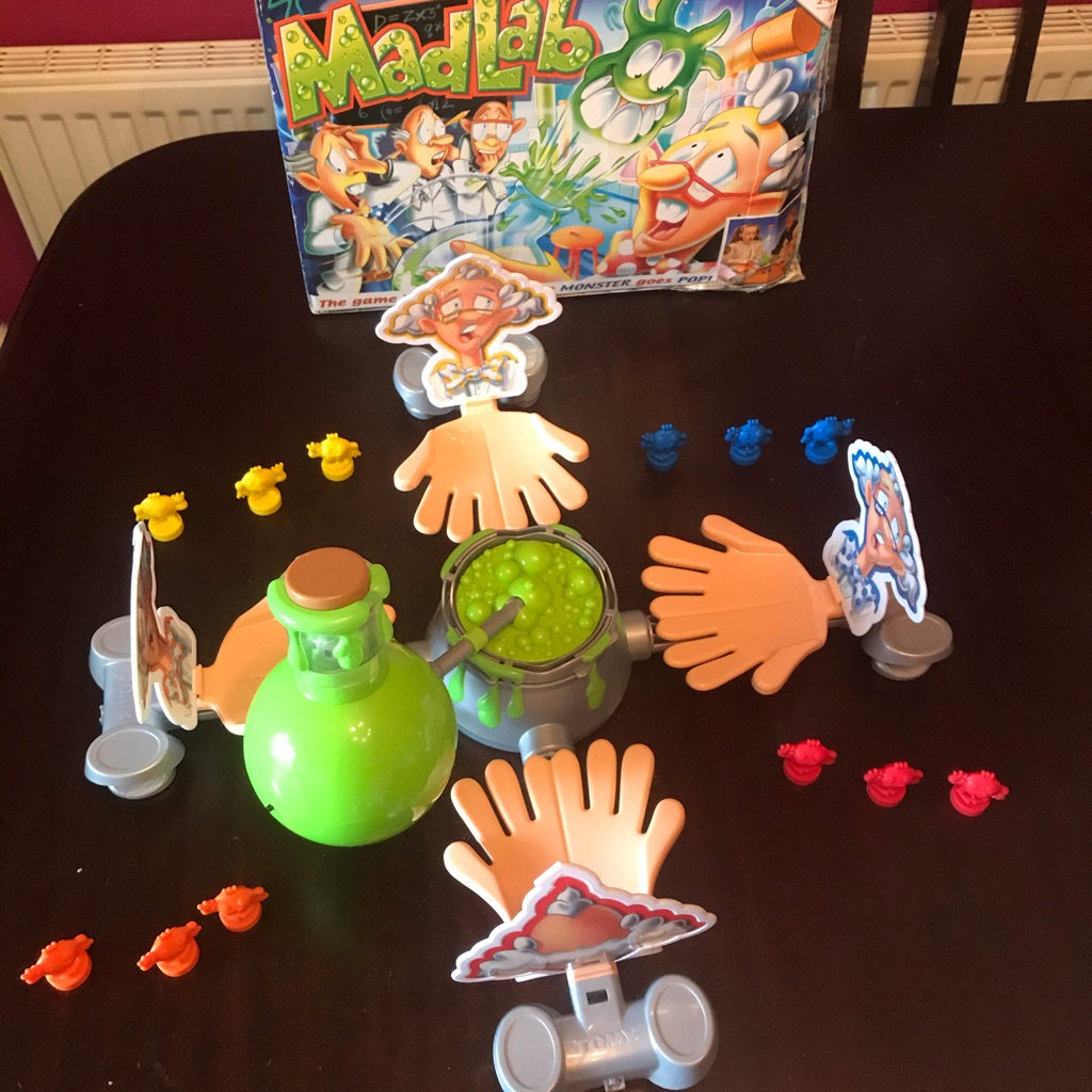 Children's Brilliant Mad Lab Game