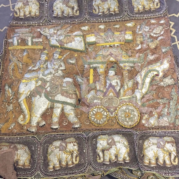 Burmese embroidery