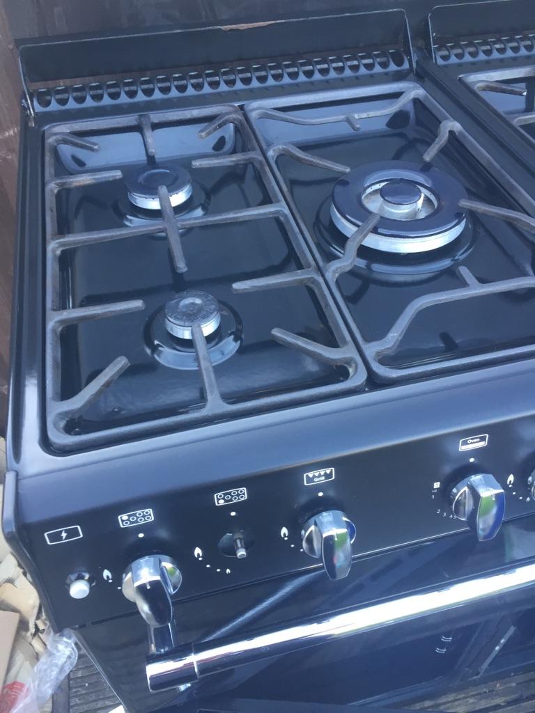 Belling C series range duel fuel gas cooker