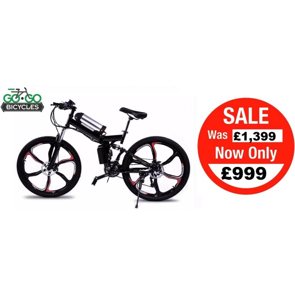 Electric Folding Bike Go Go Jedi Brand New Sale