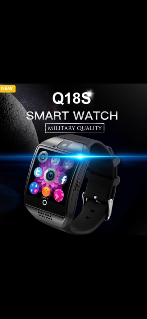 Newest Bluetooth Smart Watch Support SIM Card Camera For Android IOS