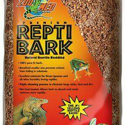 Reptile bark